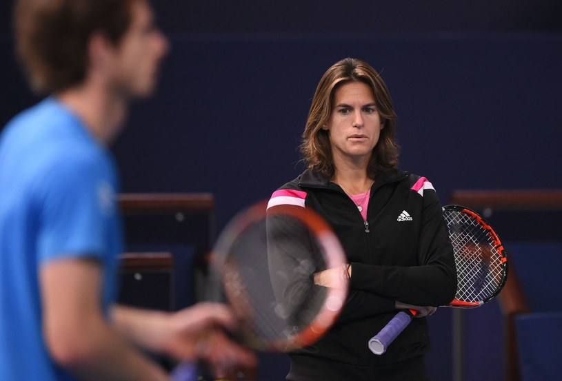 Andy Murray i Amelie Mauresmo /AFP