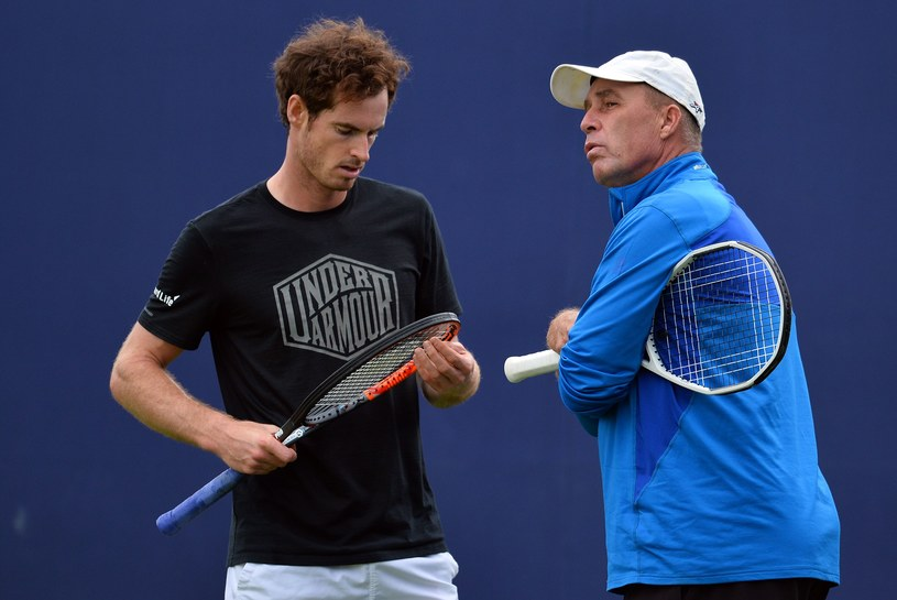 Andy Murray i Ivan Lendl /AFP