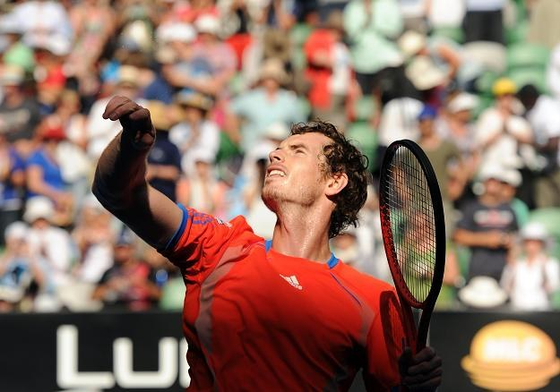 Andy Murray (na zdjęciu) pokonał Kei Nishikoriego /AFP