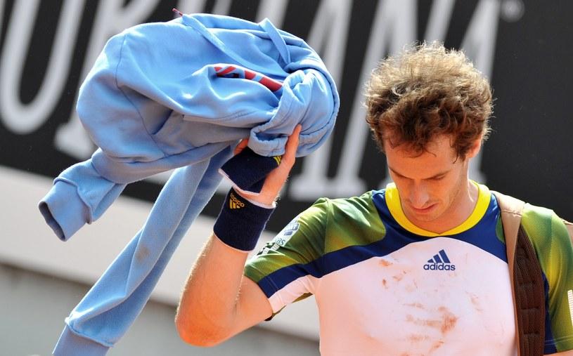 Andy Murray nie zagra w Paryżu /AFP