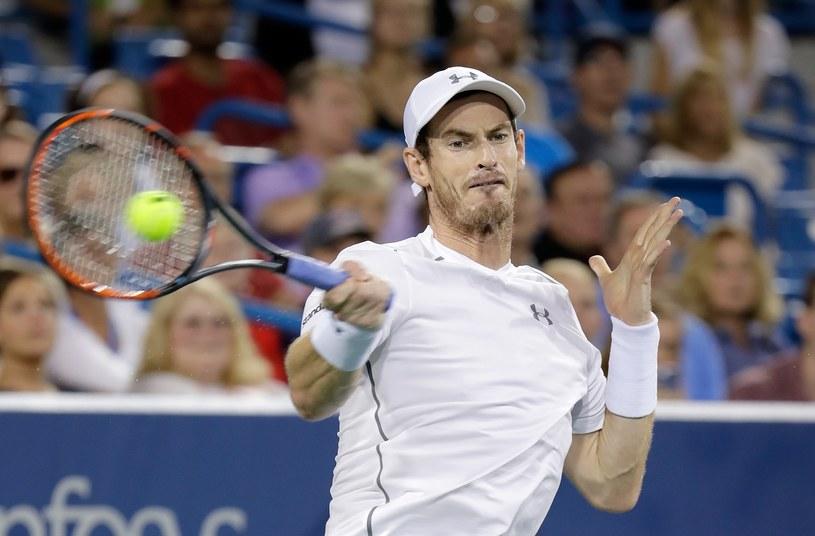 Andy Murray podczas półfinału /AFP