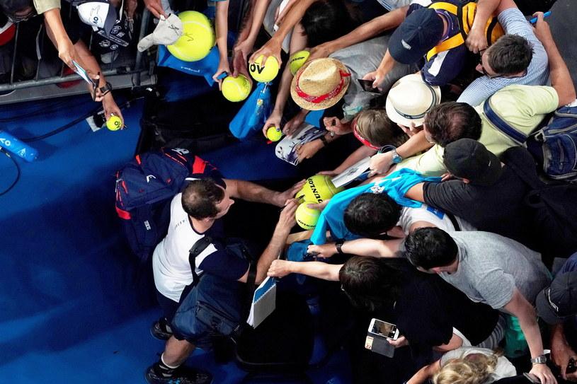 Andy Murray pożegnał się z Australian Open /PAP/EPA