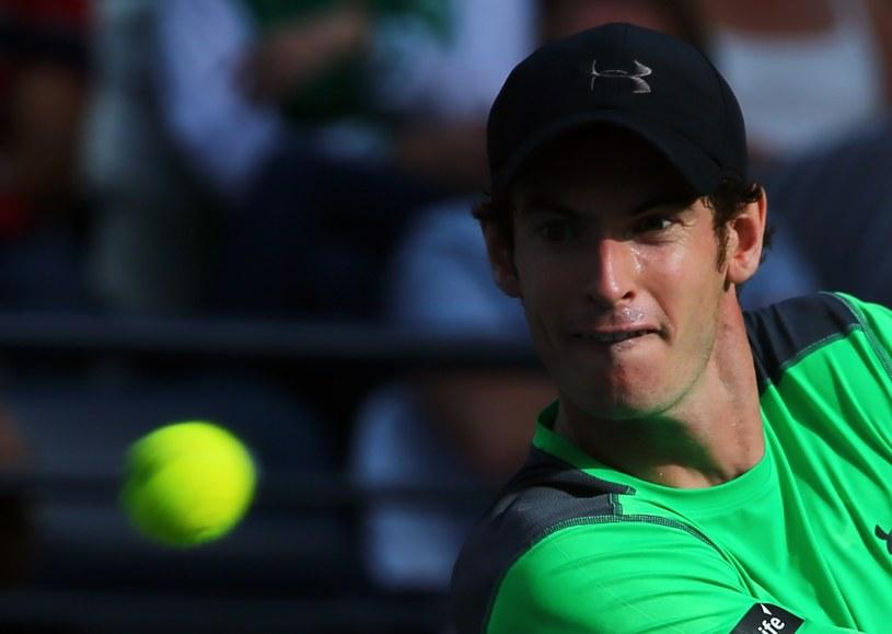 Andy Murray pożegnał się z turniejem /AFP