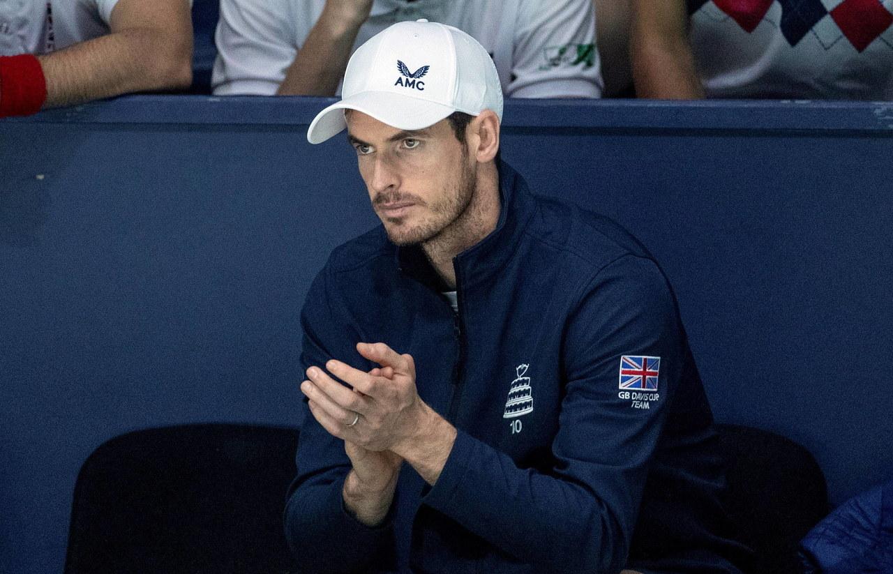 Andy Murray wraca na kort, by pomóc służbie zdrowia