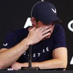 """Andy Murray zapowiada zakończenie kariery. """"Ból jest zbyt duży"""""""