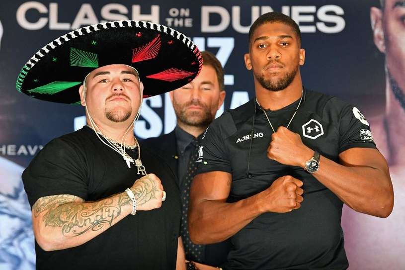 Andy Ruiz jr i Anthony Joshua /AFP
