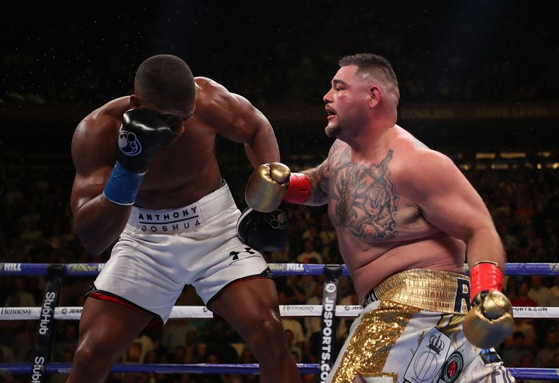 Andy Ruiz Jr sensacyjnie pokonał Anthony'ego Joshuę /AFP