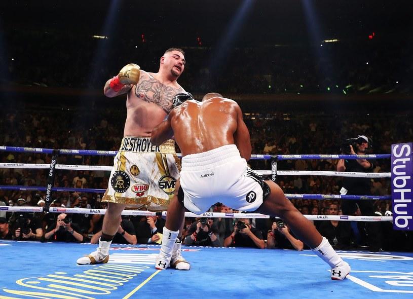 Andy Ruiz Jr walczy z Anthonym Joshuą /AFP