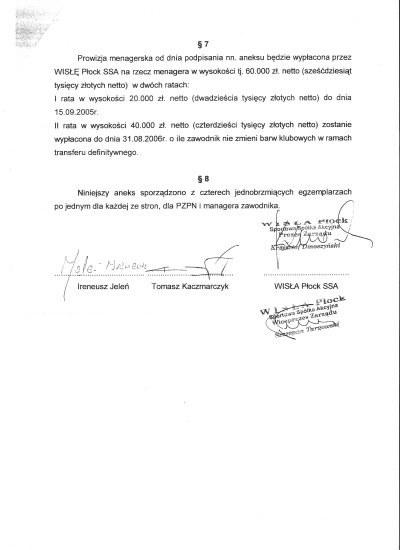 Aneks 2 umowy /Informacja prasowa