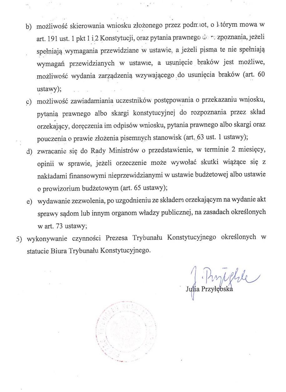 Aneks do pełnomocnictwa z 21 grudnia (strona 2) /Zrzut ekranu