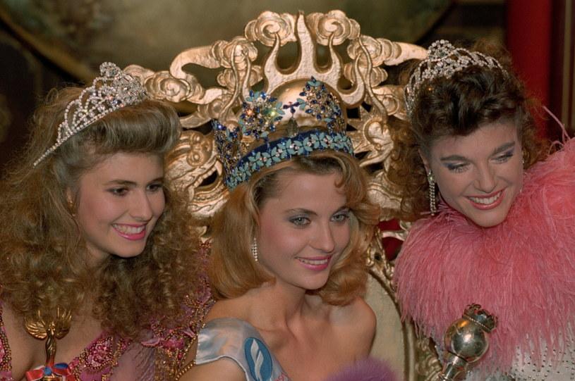 Aneta Kręglicka wygrała wybory Miss World w 1989 roku /PAP life