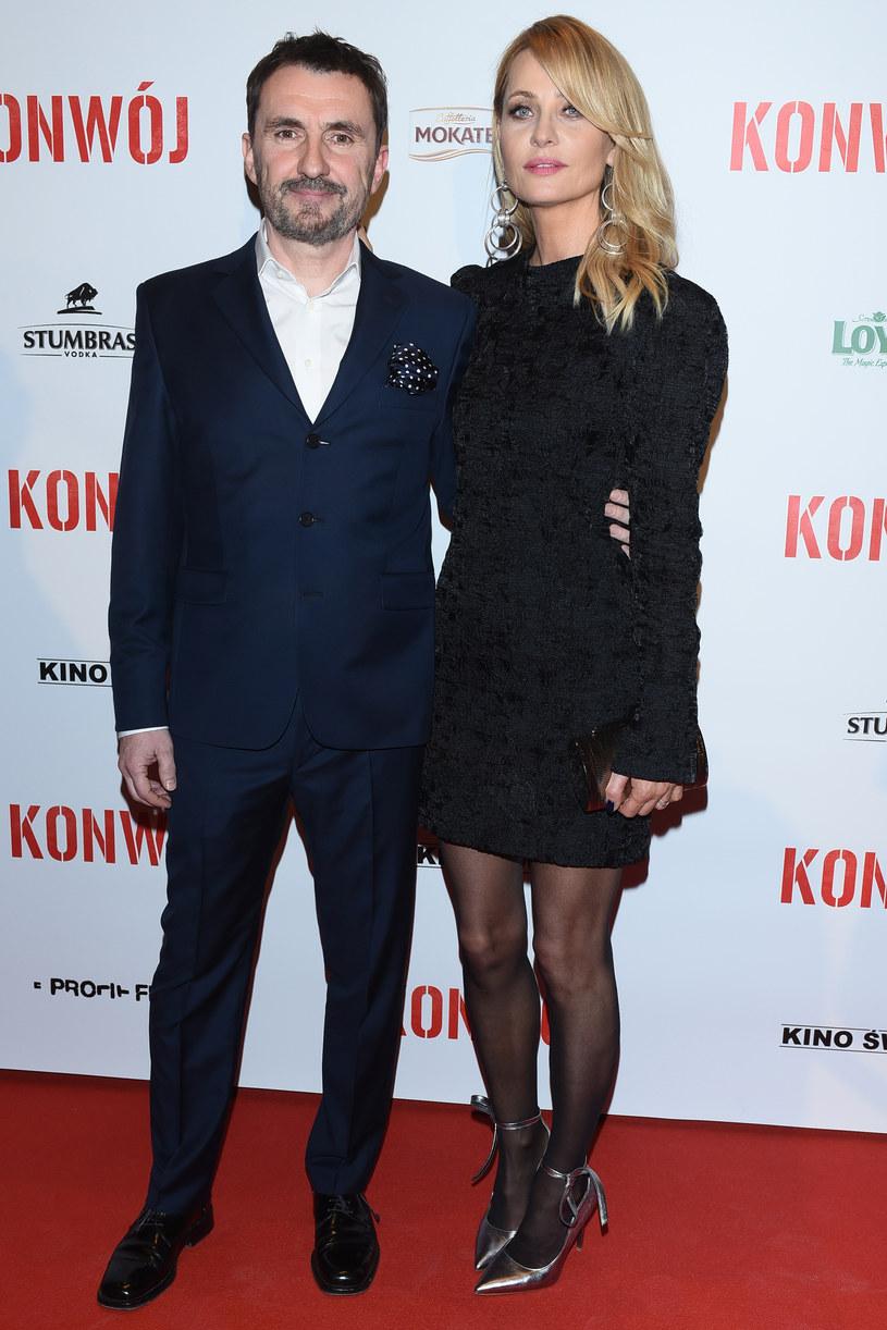 Aneta Kręglicka z mężem Maciejem Żakiem /Andras Szilagyi /MWMedia
