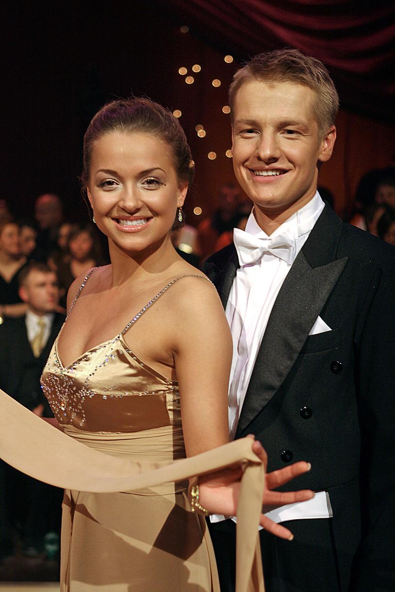 Aneta Piotrowska i Rafał Mroczek /Kurnikowski /AKPA