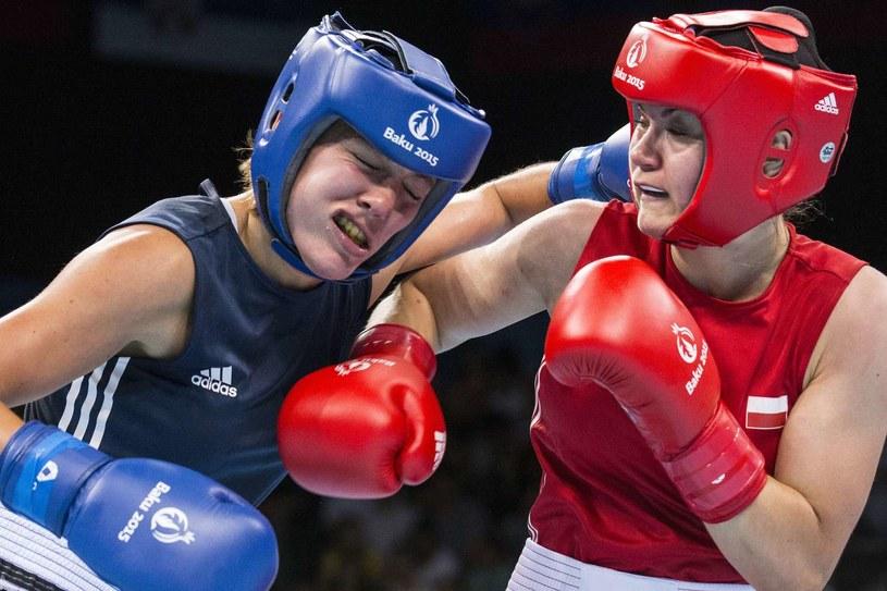 Aneta Rygielska (z prawej) /AFP