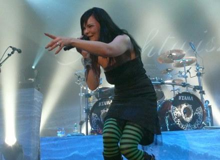 Anette Olzon (Nightwish) w Krakowie - fot. Ewa Toczkowska /