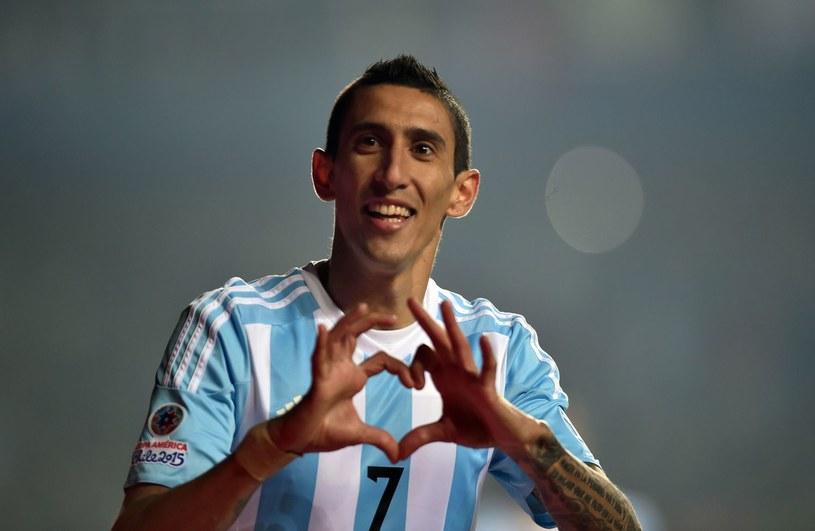 Angel di Maria jeszcze nie wznowił treningów po Copa America, na którym Argentyna zajęła drugie miejsce /AFP