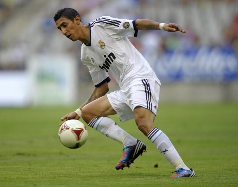 Angel di Maria strzelił dwa gole w sparingu z Realem Oviedo /AFP