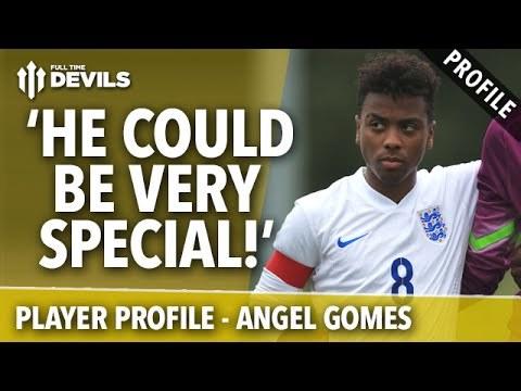 Angel Gomes (fot. YouTube) /