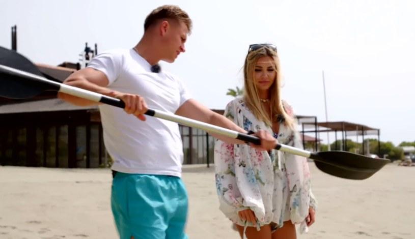 """Angela i Arsen z """"Love Island. Wyspa miłości"""" /Polsat/Ipla /Polsat"""