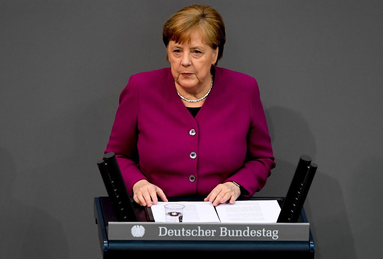 Angela Merkel: Europa nie jest Europą, jeśli nie staje we własnej obronie