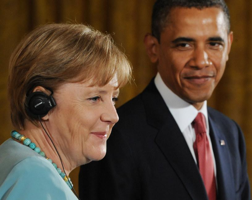 Angela Merkel i Barack Obama /AFP