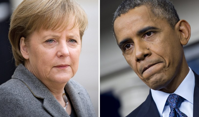 Angela Merkel i Barack Obama /AFP