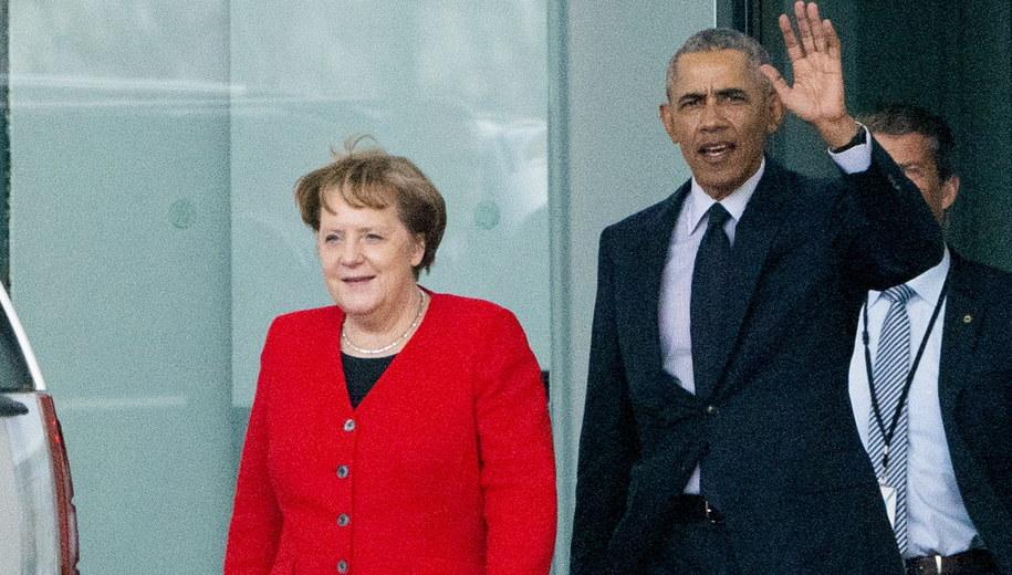 Angela Merkel i Barack Obama /ALEXANDER BECHER /PAP/EPA