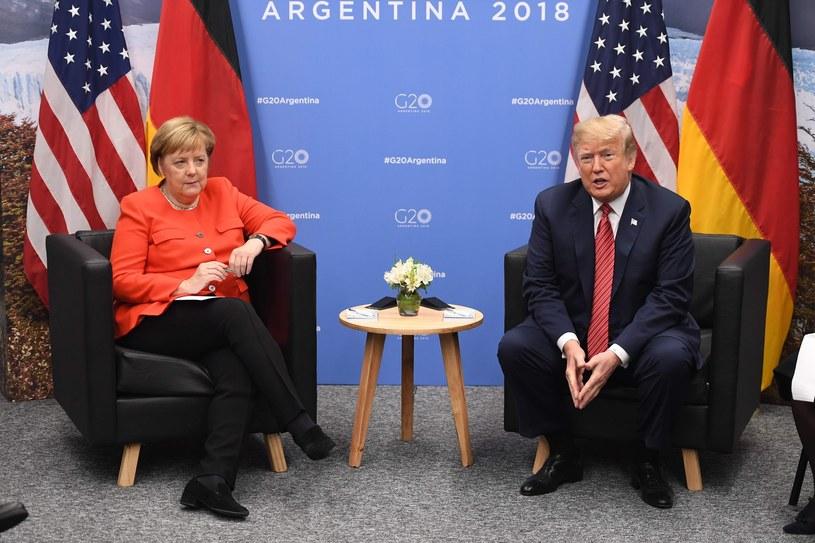 Angela Merkel i Donald Trump /SAUL LOEB / AFP /East News