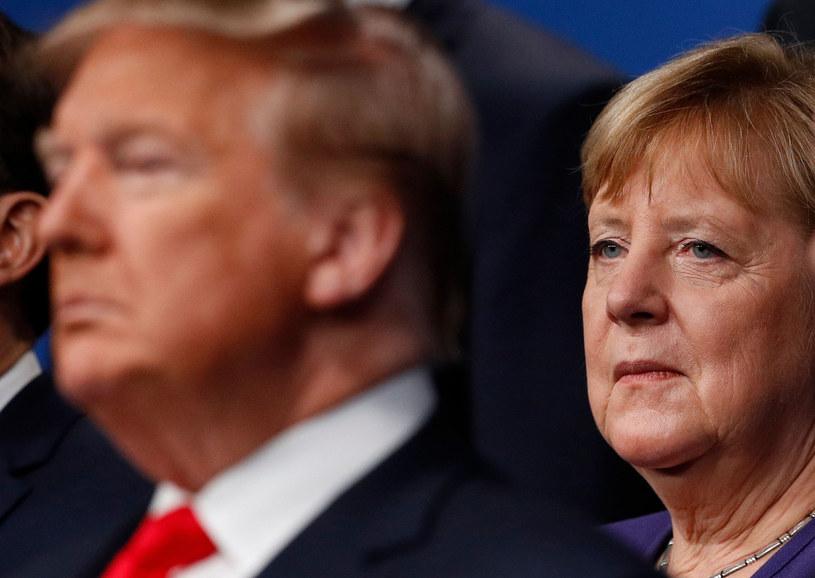 Angela Merkel i Donald Trump /PETER NICHOLLS/AFP /East News