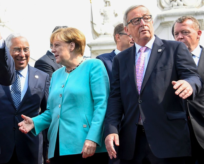 Angela Merkel i Jean-Claude Juncker /AFP