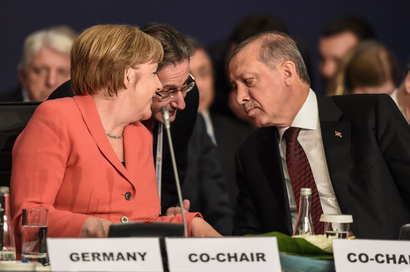 Angela Merkel i Recep Erdogan /AFP