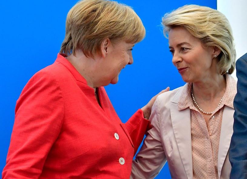 Angela Merkel i Usula von der Leyen /TOBIAS SCHWARZ / AFP /AFP