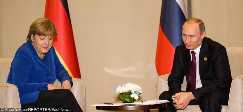 Angela Merkel i Władimir Putin /East News