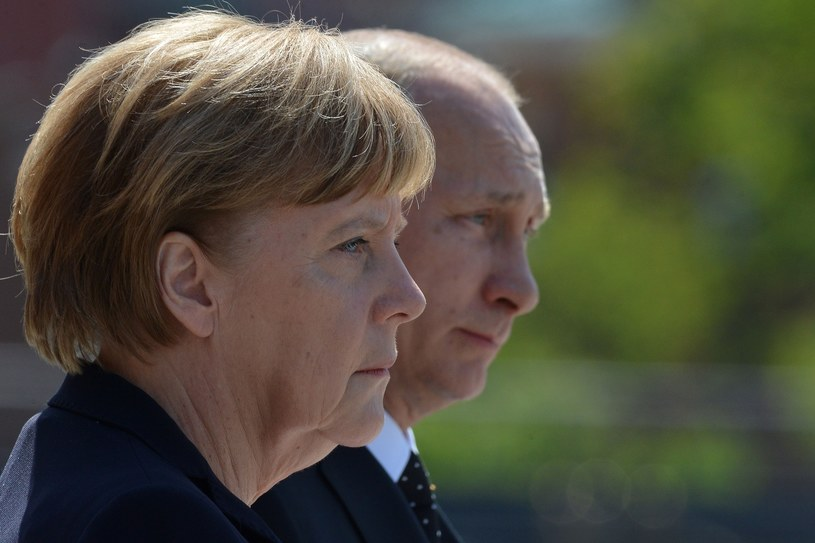 Angela Merkel i Władimir Putin /Getty Images