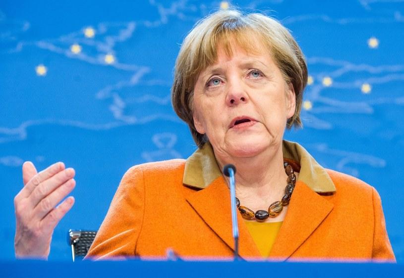 Angela Merkel krytykuje zamknięcie granic na szlaku bałkańskim /PAP/EPA
