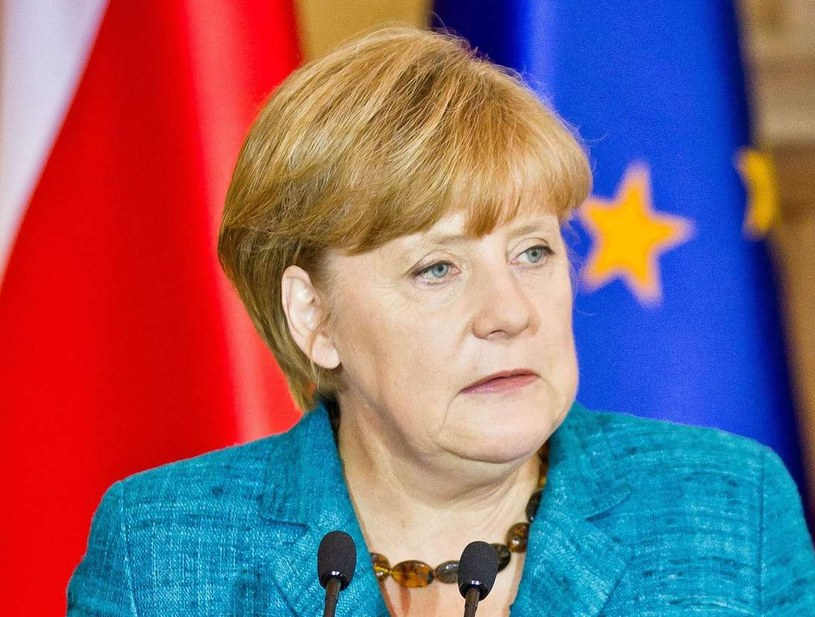 Angela Merkel ma polskie korzenie /AFP
