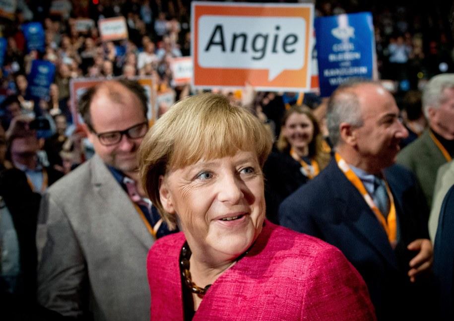 Angela Merkel ma szansę zostać kanclerz Niemiec po raz trzeci /MICHAEL KAPPELER /PAP/EPA