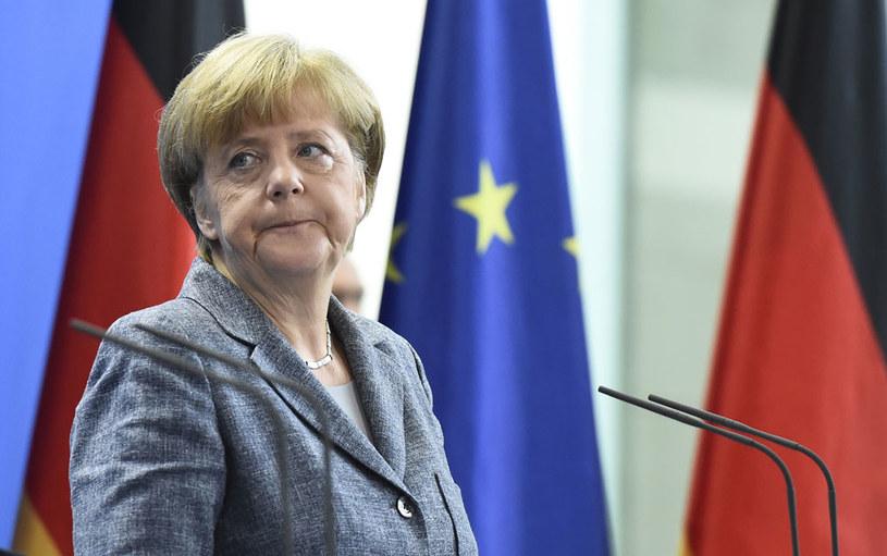 Angela Merkel nie chce budować kolejnych murów /AFP