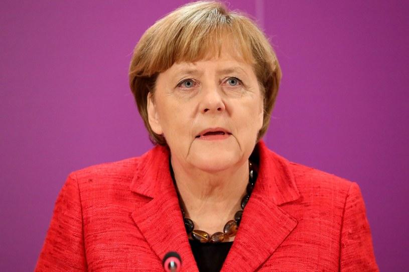 Angela Merkel opowiada się za Europą różnych prędkości /PAP/EPA