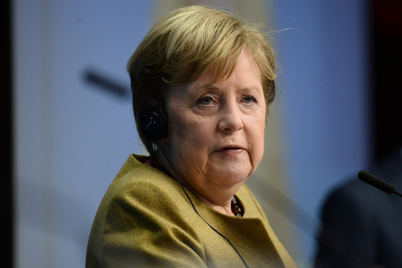 Angela Merkel podczas szczytu w Brukseli /JOHANNA GERON / POOL /PAP/EPA