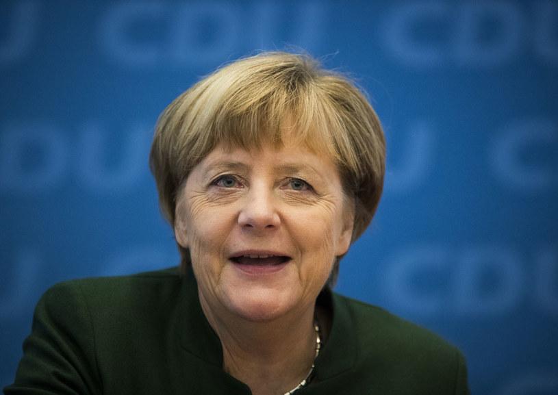 Angela Merkel powalczy po raz czwarty o fotel kanclerza /AFP
