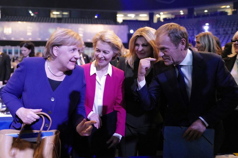 Angela Merkel, Ursula van der Leyen, Kolinda Grabar-Kitarović i Donald Tusk /ANTONIO BAT /PAP