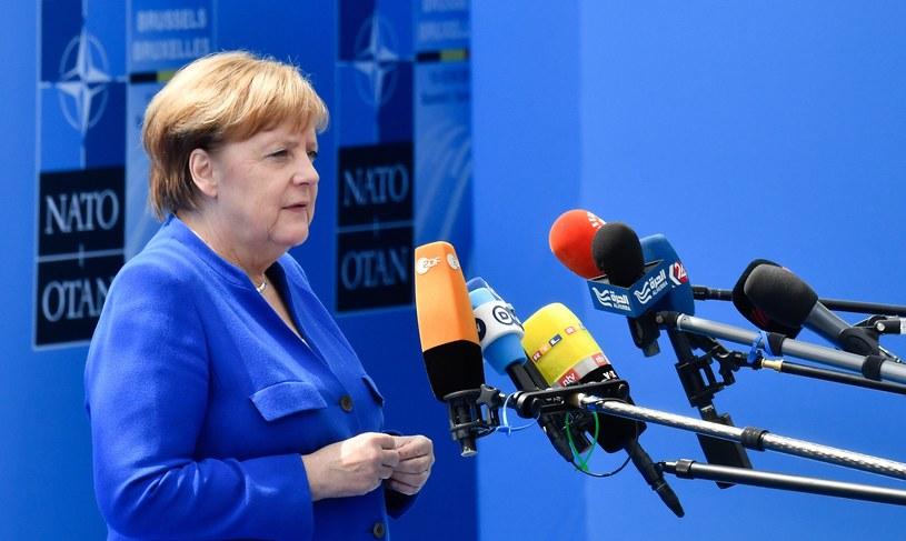 Angela Merkel w Brukseli /AFP