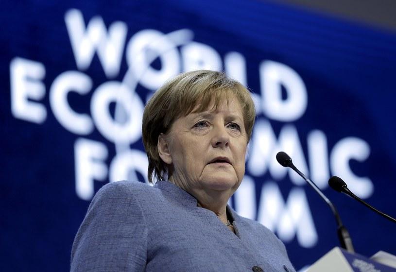 Angela Merkel w Davos /East News