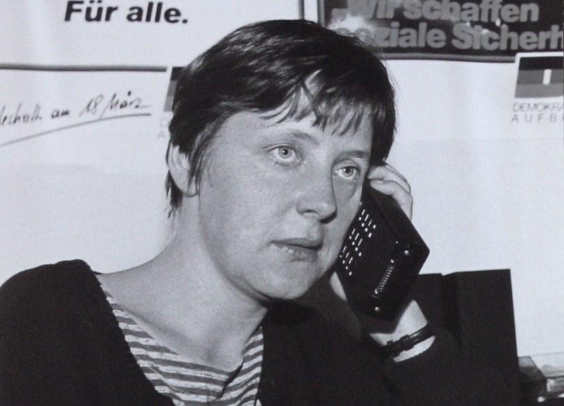 Angela Merkel w latach młodości /Reuters /Agencja FORUM