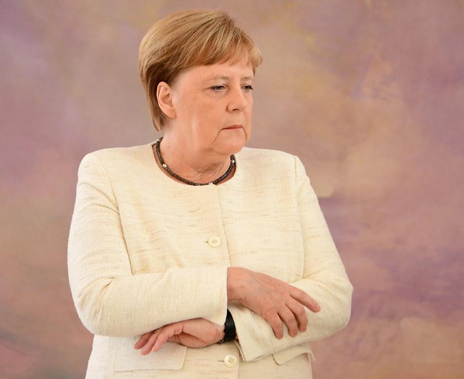 Angela Merkel w lipcu skończy 65 lat /Clemens Bilan /PAP/EPA