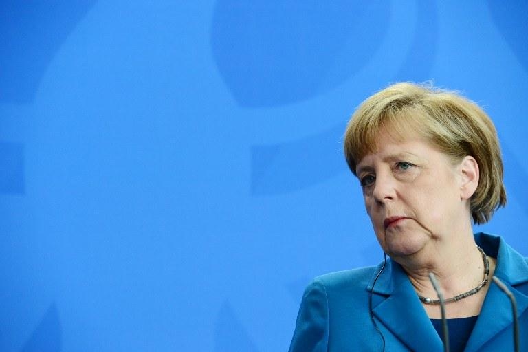 Angela Merkel w ogniu krytyki? /JOHN MACDOUGALL /AFP