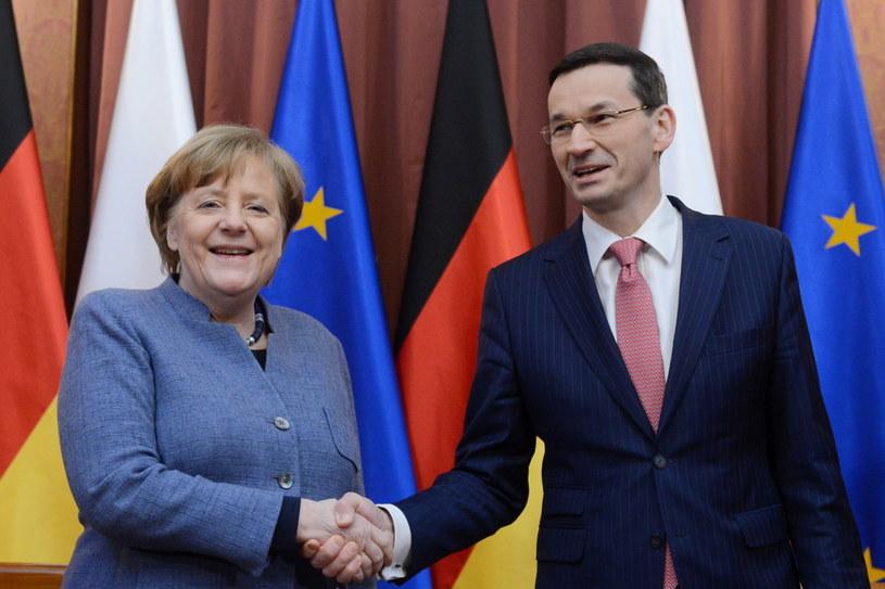 Angela Merkel w Polsce /Jakub Kamiński   /PAP