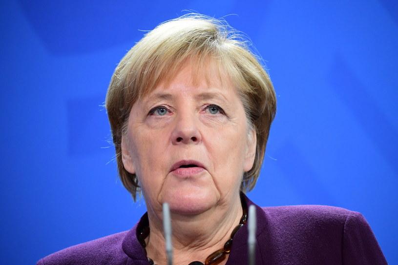 Angela Merkel: Wielka Brytania będzie państwem trzecim, z którym musimy zawrzeć jak najszybciej umowę o wolnym handlu /Clemens Bilan /PAP/EPA