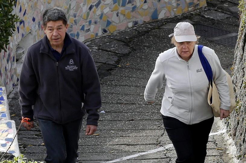 Angela Merkel z mężem /PAP/EPA